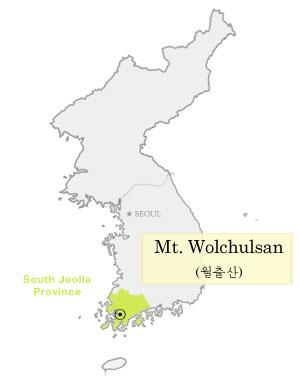 map_wolchulsan